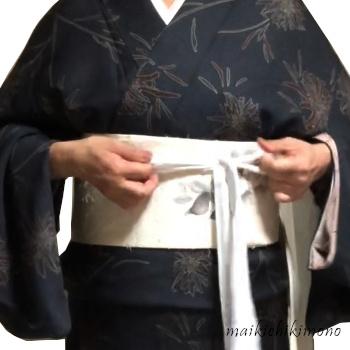 """temporarily tie """"karihimo"""""""