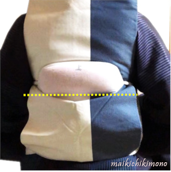 Put the pad