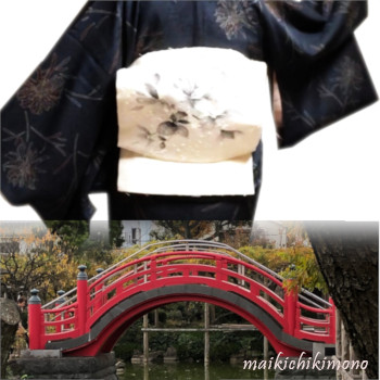 """ichijudaiko"" and ""taikobashi"" bridge"