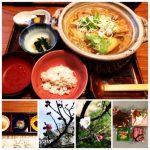 """a dish of Fukagawa-nabe with """"kameido""""Japanese radish"""