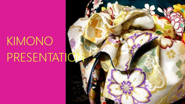 kimono presentation